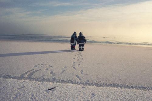 Người Inuit ở Bắc Cực. Ảnh: Bryan Alexander/GEO