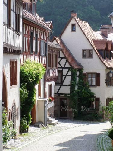 Khu phố cổ Weinheim