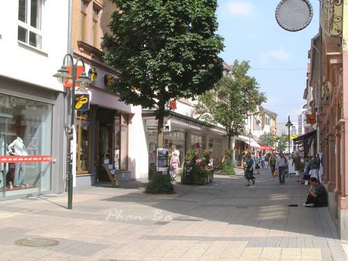 Phố mua sắm của Weinheim