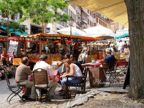 Nơi họp chợ của Weinheim