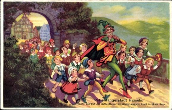 Người Bắt Chuột ở Hameln