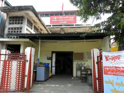 Văn phòng của đảng NLD