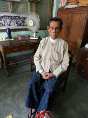 U Thin Oo, nhân vật thứ nhì của đảng NLD