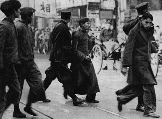 Người có thiện cảm với ĐCS bị bắt giam ở Thượng Hải năm 1931