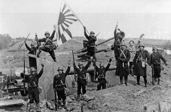 Quân đội Nhật Bản chiến thắng ở gần Thượng Hải