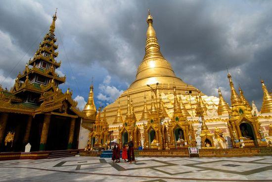 Chùa Shwedagon ở Yangon