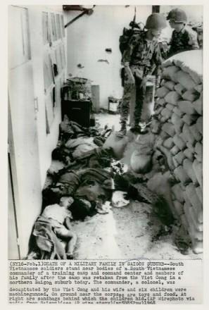 Cái chết của một gia đình quân nhân ở ngoại ô Sài Gòn