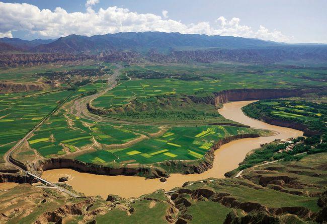 Thượng lưu của Hoàng Hà trong tỉnh Thanh Hải