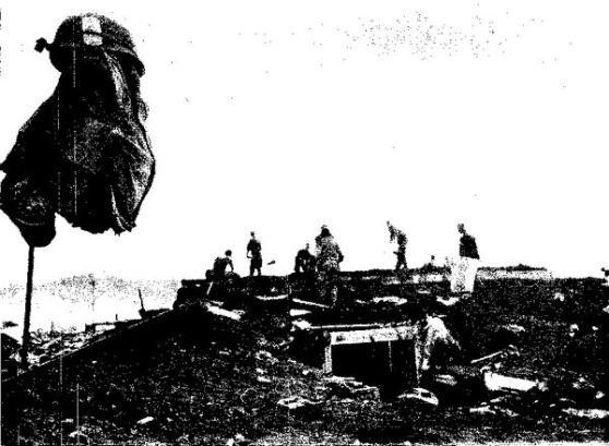 Lính Mỹ trước khi rút khỏi Khe Sanh, Ảnh: Der Spiegel