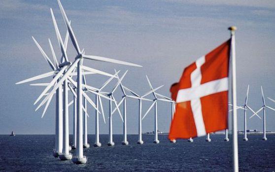 Công viên gió ngoài khơi Middelgrunden ở Copenhagen
