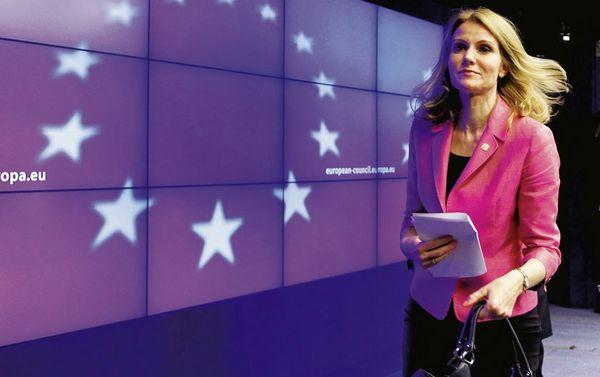 Nữ thủ tướng Đan Mạch Thorning-Schmidt. Ảnh: Der Spiegel