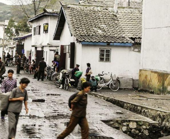 Thành phố cảng Wosan của Triều Tiên. Ảnh: Der Spiegel
