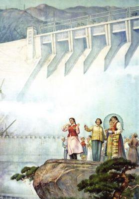 Cán bộ Đảng Cộng sản yêu cầu tiến hành những dự án xây dựng ở khắp nơi trong Trung Quốc, để xây đập nước, cung cấp điện hay cải thiện việc tưới nước. Nhưng kế hoạch cho những dự án này thường hay sai lầm, hay chúng tự chứng tỏ mình là vô dụng: đập vỡ, hồ chứa nước ngẽn bùn, tuốc bin bị ngẹt vì bùn. Ảnh: GEO Epoche.