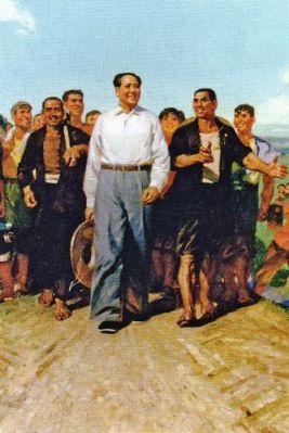 Trong khi bộ máy tuyên truyền đưa ra những con người hạnh phúc đứng xung quanh Mao thì nạn đói ghê gớm nhất từ trước tới nay đang hoành hành trong Trung Quốc. Và chính người chủ tịch này chịu trách nhiệm cho thảm họa đó: vì ngay khi ông ấy đã biết có người chết hàng loạt, ông ấy cũng vẫn không thay đổi các kế hoạch của mình. Ảnh: GEO Epoche.