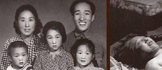 Khủng bố: Cô giáo Biện Trọng Vân (với chồng và ba trong số bốn người con của bà) se là người chết đầu tiên trong số các nạn nhân của cuộc Cách mạng Văn hóa. Bà làm việc tại một trường trung học nổi tiếng ở Bắc Kinh và bị chính các nữ sinh của mình hành hạ cho tới chết. Những người đấy đã đánh đập và xỉ nhục bà nhiều tuần liền vì cho rằng bà phản bội lý tưởng Cộng sản. Ảnh: GEO Epoche