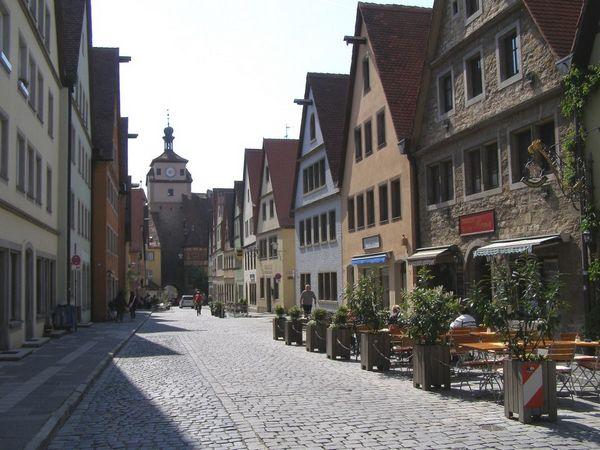 Thành phố Rothenburg. Ảnh: Phan Ba