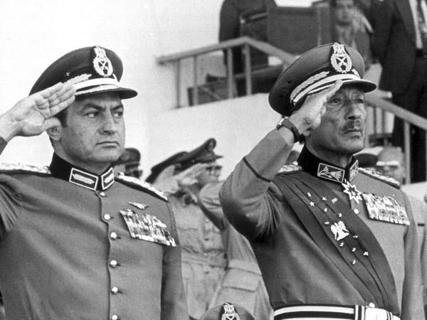 Sadat và Mubarak