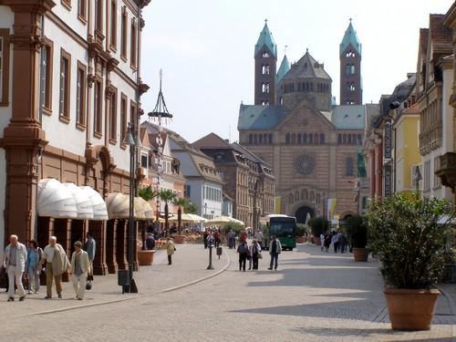 Nhà thờ lớn Speyer. Ảnh: Phan Ba