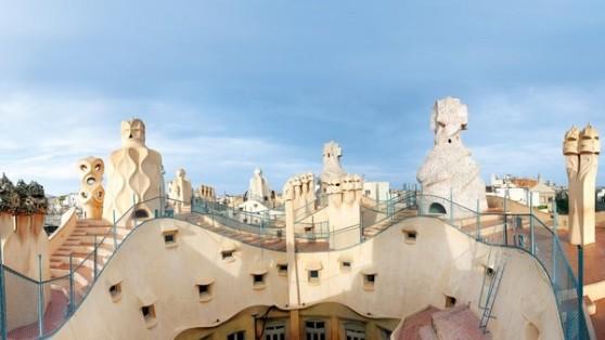 Sân thượng của Casa Milà