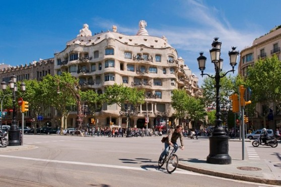 Casa Batló của Gaudí. Ảnh: Corbis