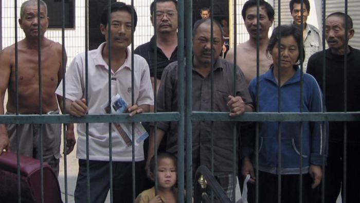 Dân khiếu kiện Trung Quốc bị giữ tại một trại giam trá hình ở Bắc Kinh REUTERS
