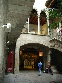 Bảo tàng Picasso ở Barcelona. Ảnh: Wikipedia