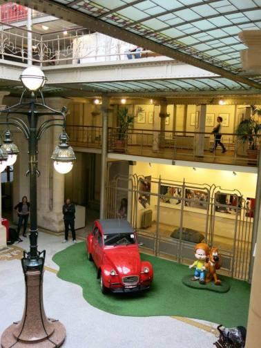 Trung tâm Comic Bỉ ở Bruxelles. Hình: Hồng Hạnh