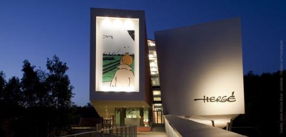 Bảo tàng Hergé ở ngoại ô nước Bỉ. Hình: Musée Hergé
