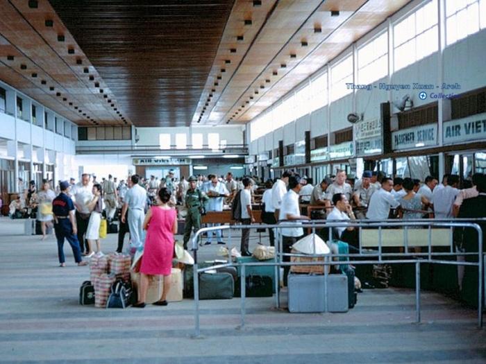 Cảng hàng không Tân Sơn Nhứt 1967