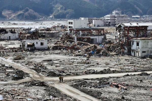 Rikuzentakata, 17 tháng Ba 2011