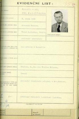 Oldrich Malac bị tuyên án 15 năm lao động cưỡng bức sau lần bị dụ dỗ bỏ trốn. Hình: abscr.cz