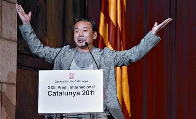 Haruki Murakami ở Barcelona