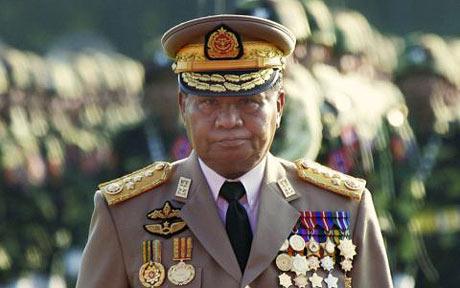 Tướng Than Shwe. Hình: The Telegraph