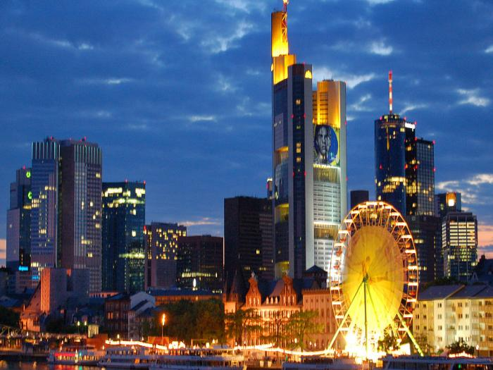 Tòa nhà Commerzbank ở Frankfurt