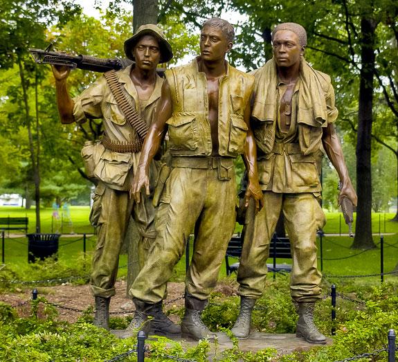 Three Soldiers Washington DC