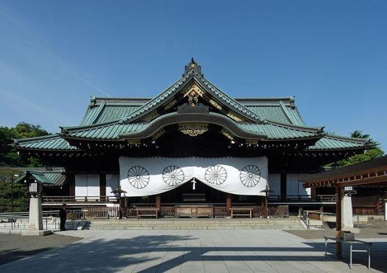 Chính điện của Đền Yasukuni. Hình: Wikipedia
