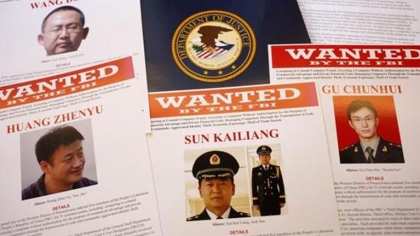 Lần đầu tiên Hoa Kỳ truy tố đại diện nhà nước Trung Quốc vì do thám kinh tế qua mạng