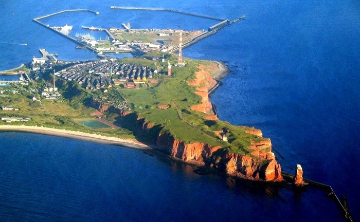 Đảo Helgoland. Hình: Fotocommunity