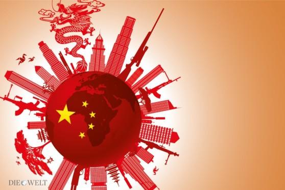 Lần trỗi dậy của Trung Quốc đã dịch chuyển tương quan quyền lực. Hình: báo Thế Giới