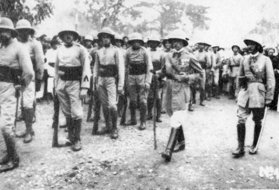 Quân đội của thế lực thuộc địa Pháp ở Việt Nam (khoảng 1950)