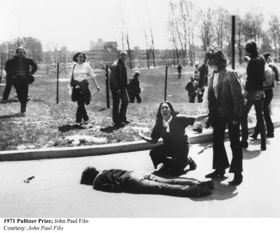 Kent Massacre 1971 Pulitzer Prize John Paul Filo