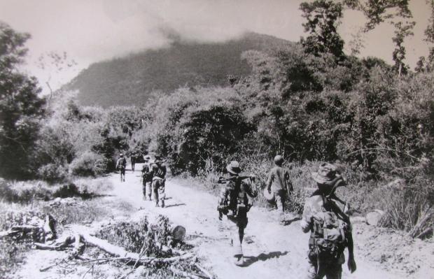 Special Forces của Mỹ chuẩn bị tấn công núi Bà Đen, 1964