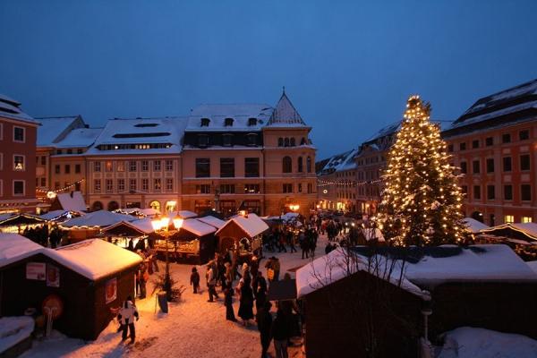 Chợ Giáng Sinh lâu đời nhất: chợ ở Bautzen