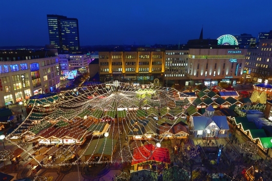 Chợ Giáng Sinh quốc tế ở Essen