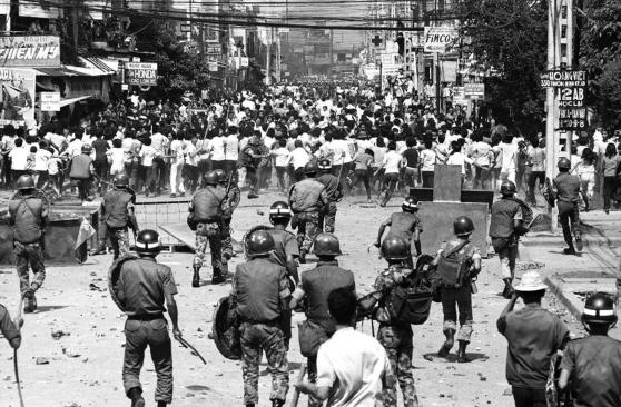 Biểu tình chống chính quyền, Sài Gòn, 1974