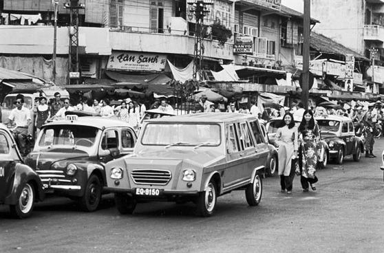 Sài Gòn năm 1974 với chiếc La Dalat  do VNCH sản xuất