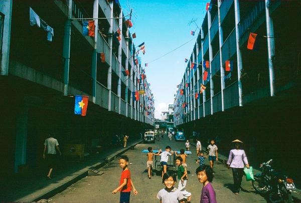 Chợ Lớn, tháng Năm 1975. Hình: Herve GLOAGUEN/Gamma-Rapho via Getty Images
