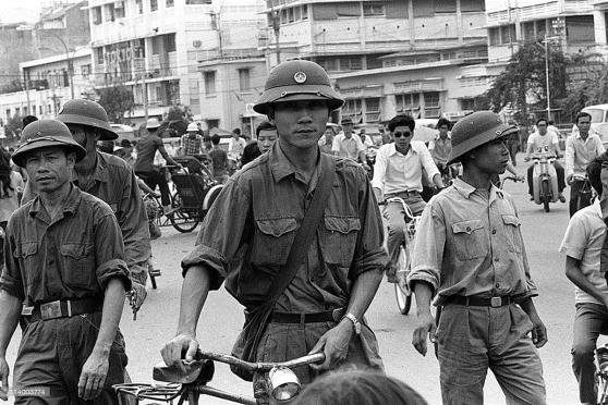 Đường Lê Lợi, Sài Gòn, tháng Năm 1975