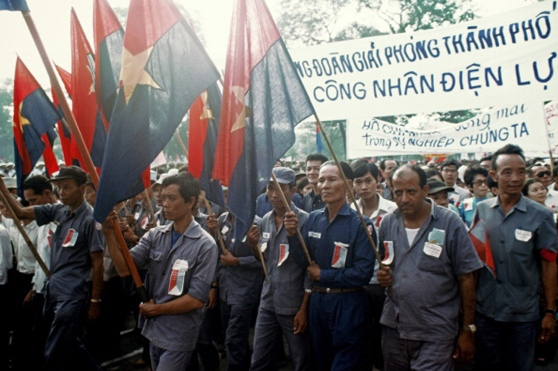 Victory Celebration in Saigon May 1975