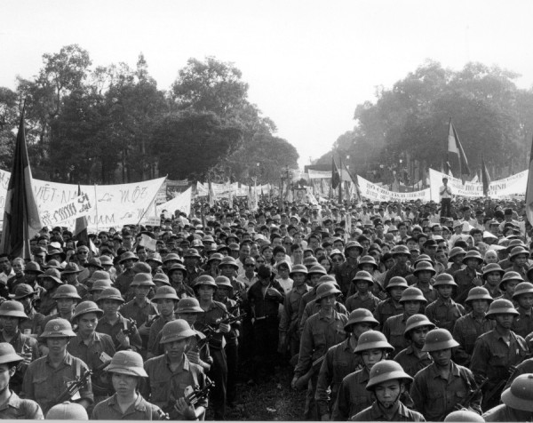 Sài Gòn ngày 15 tháng Năm 1975, tổ chức mừng chiến thắng